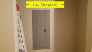 New Fuse Panel